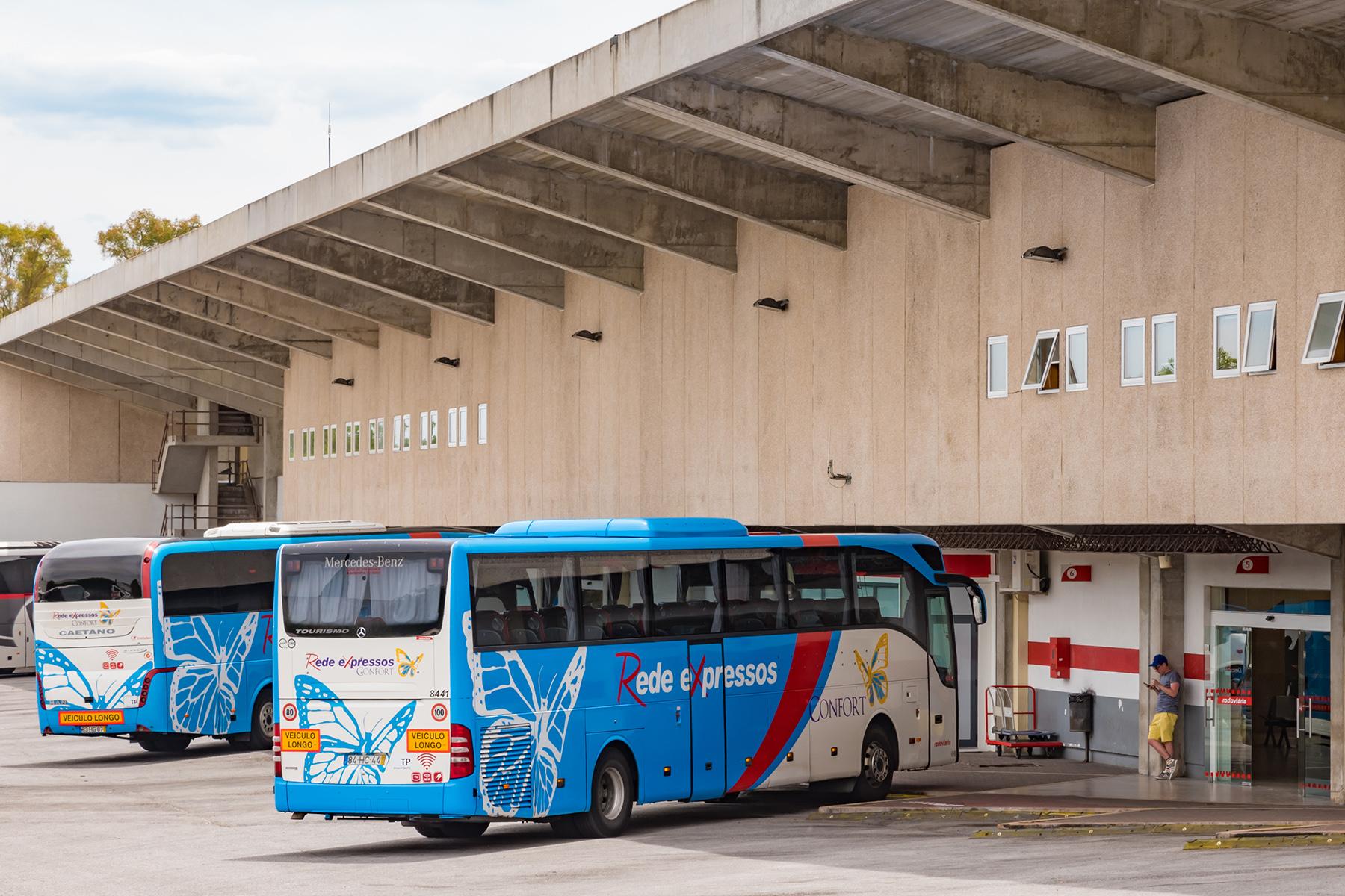 Rede buses in Evora