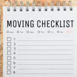Moving checklist Portugal