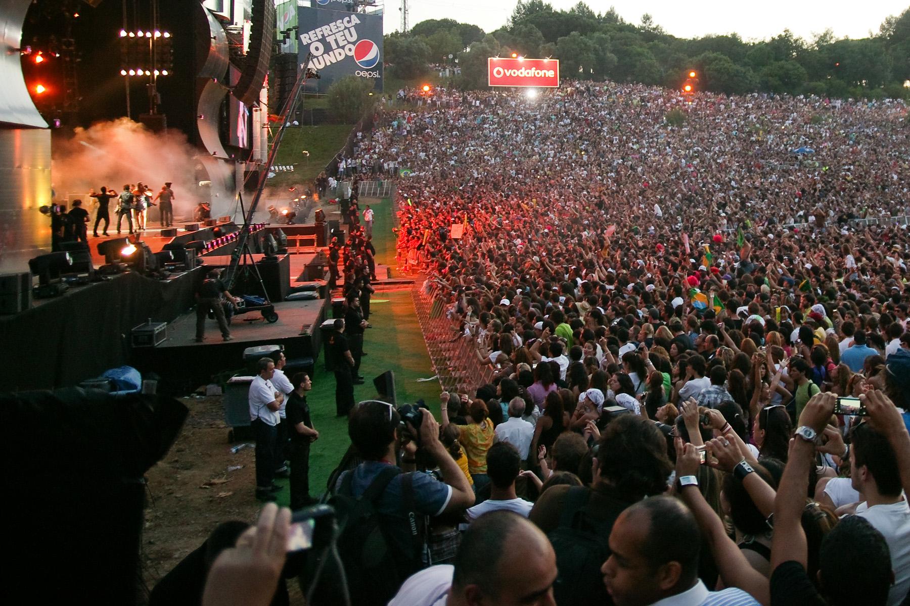 Festivals in Portugal: Rock in Rio-Lisboa
