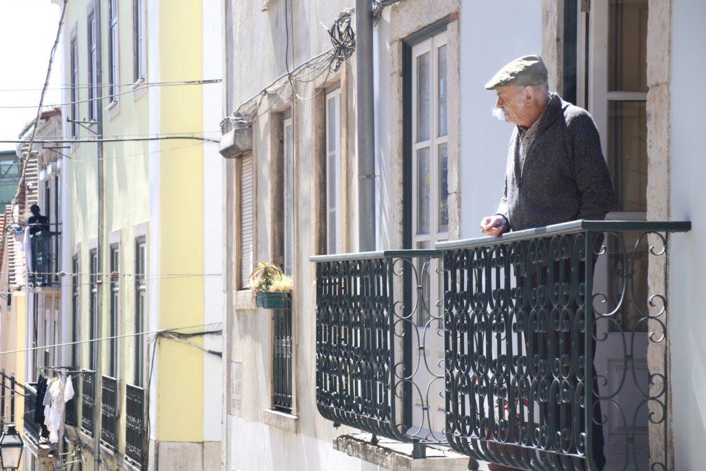 elderly man portugal