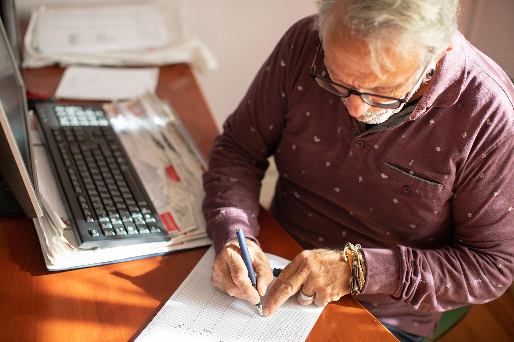 Sole proprietor filing taxes