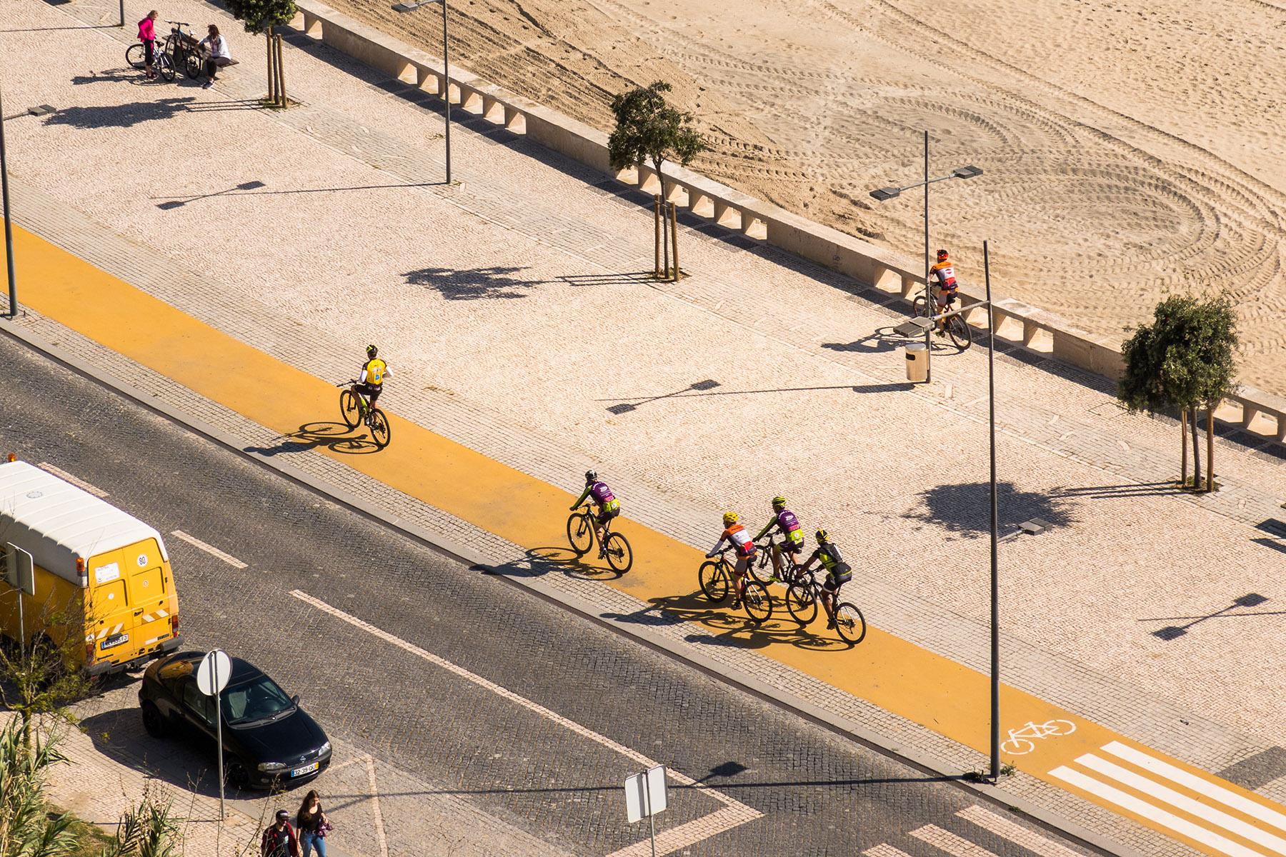 Bike lane in Sines