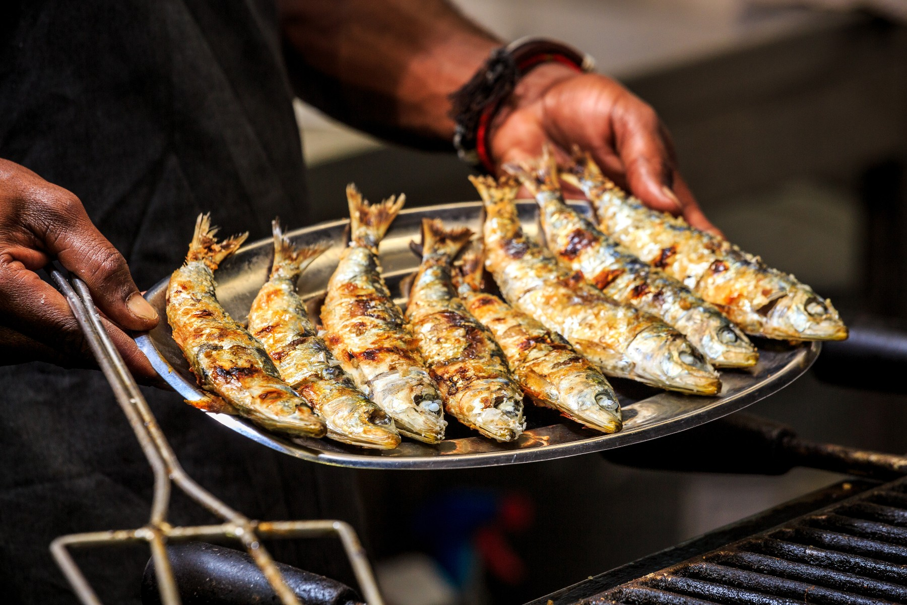 grilled fish in Portugal