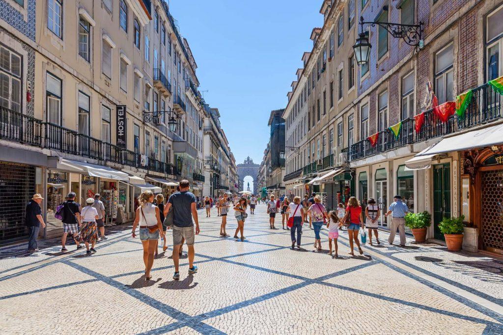 Lisbon in the sunshine