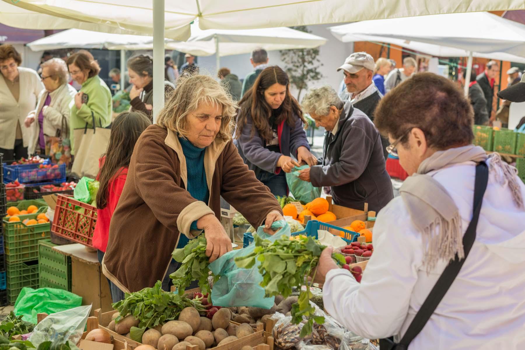market in the Algarve