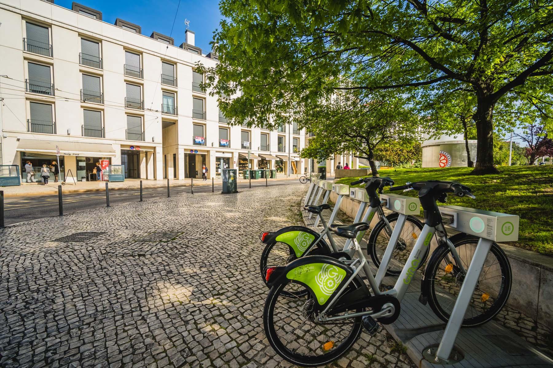 bike share in Lisbon