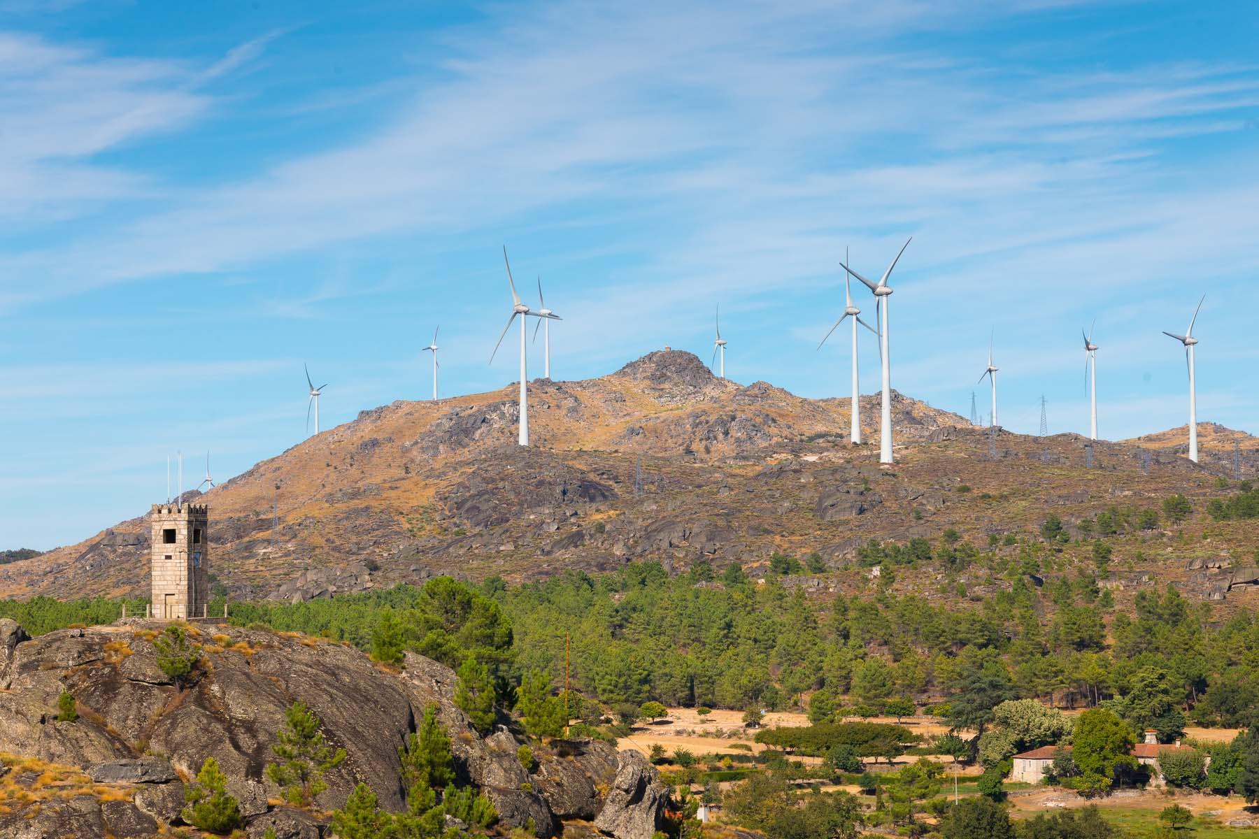 Portugal windfarm