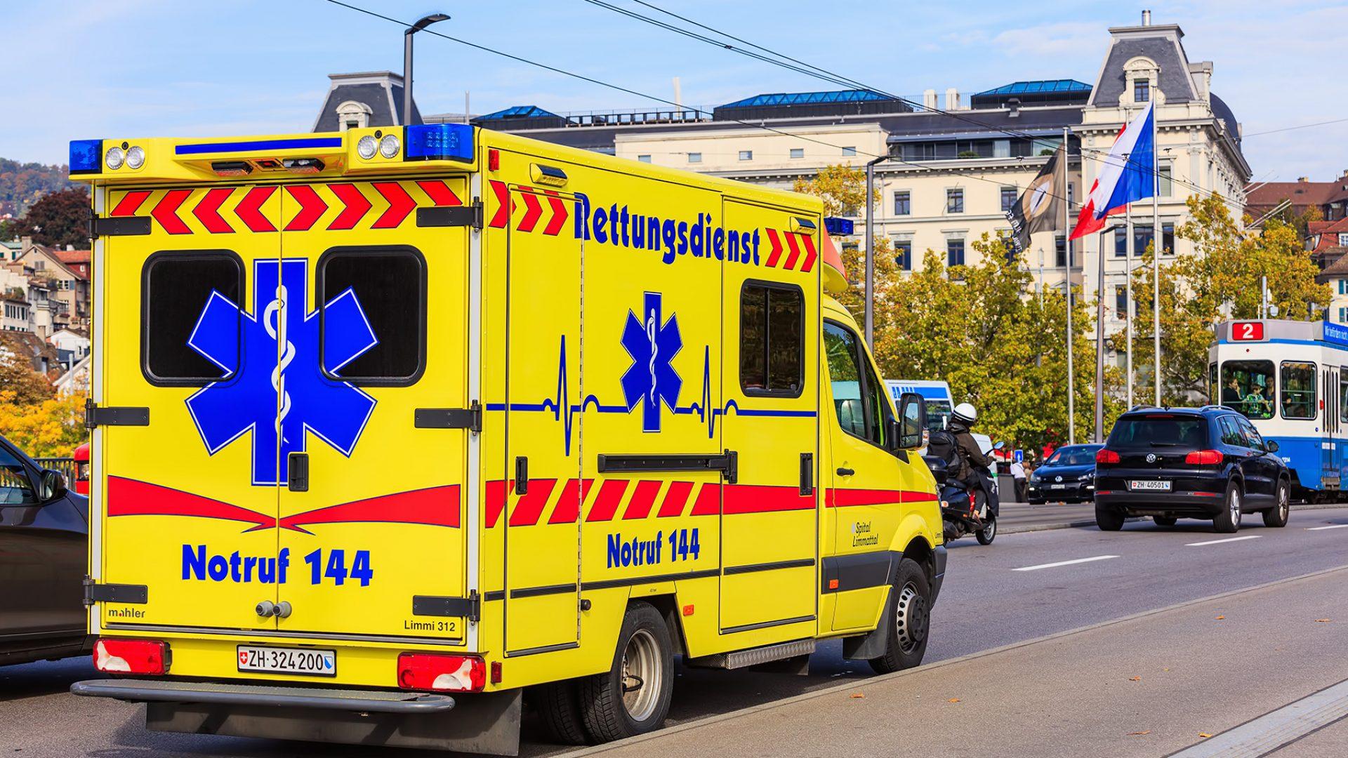 Emergency number Switzerland