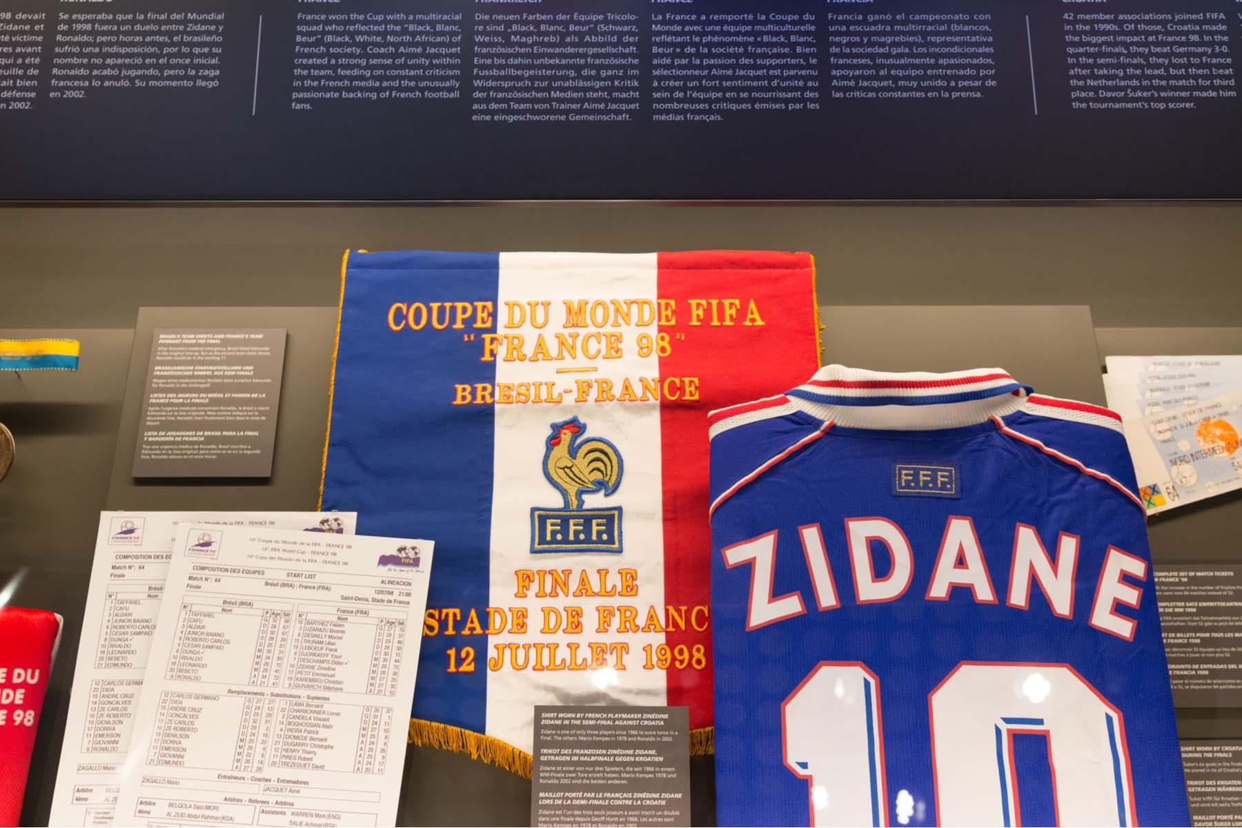 zidane fifa museum