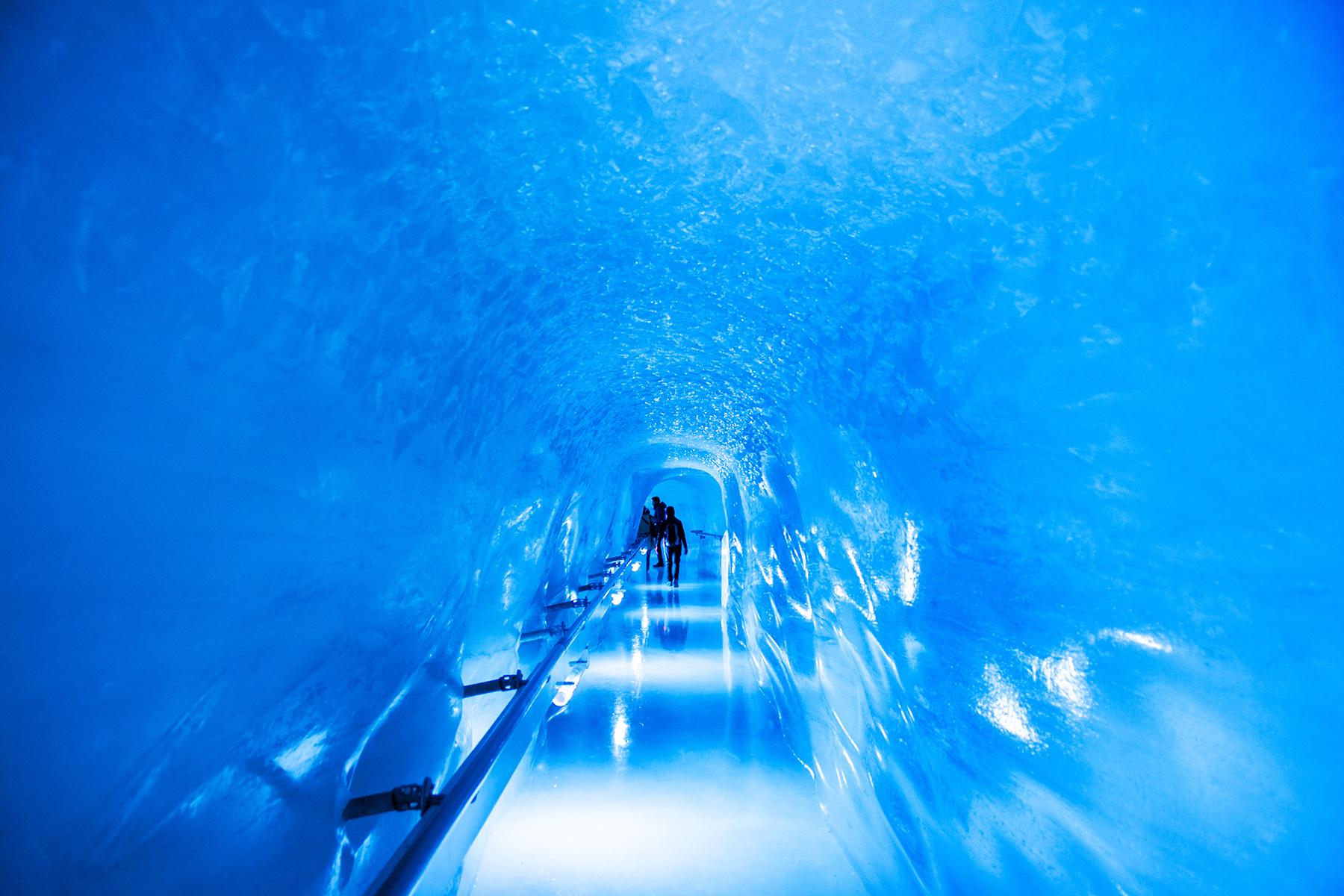 Tunnels at Junfraujoch Ice Palace
