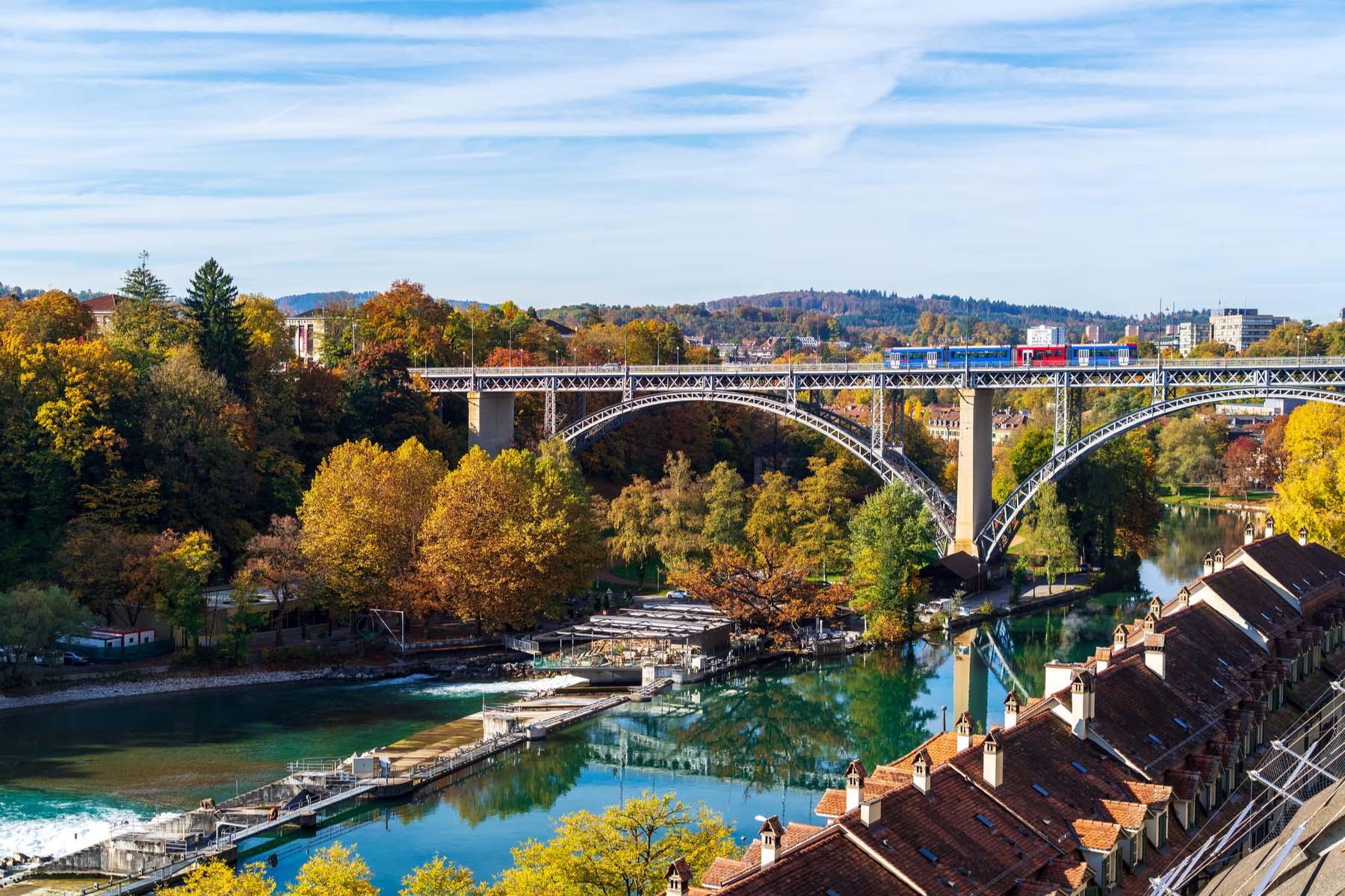 Kirchenfeld Bridge, Bern