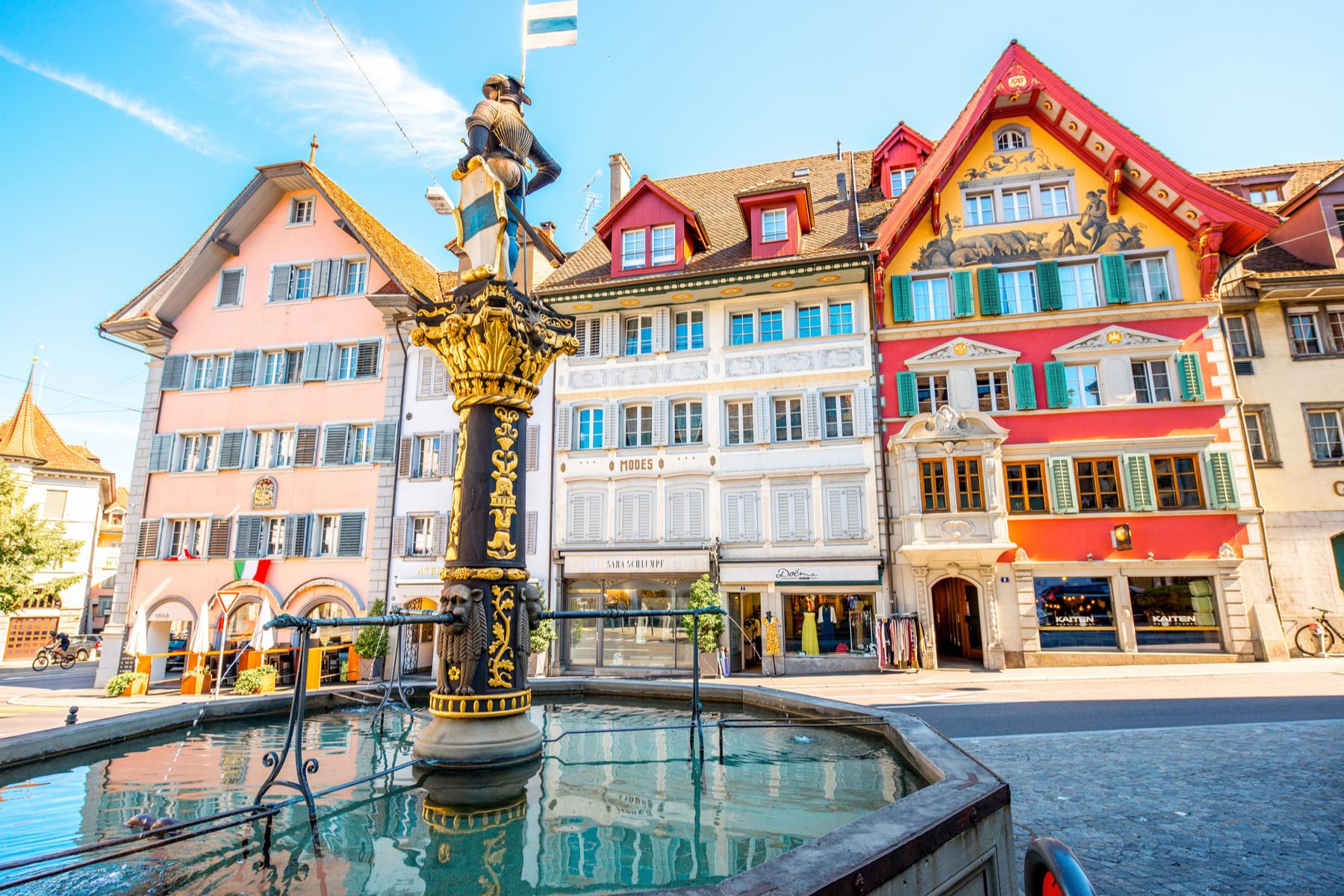 Kolinplatz in Zug