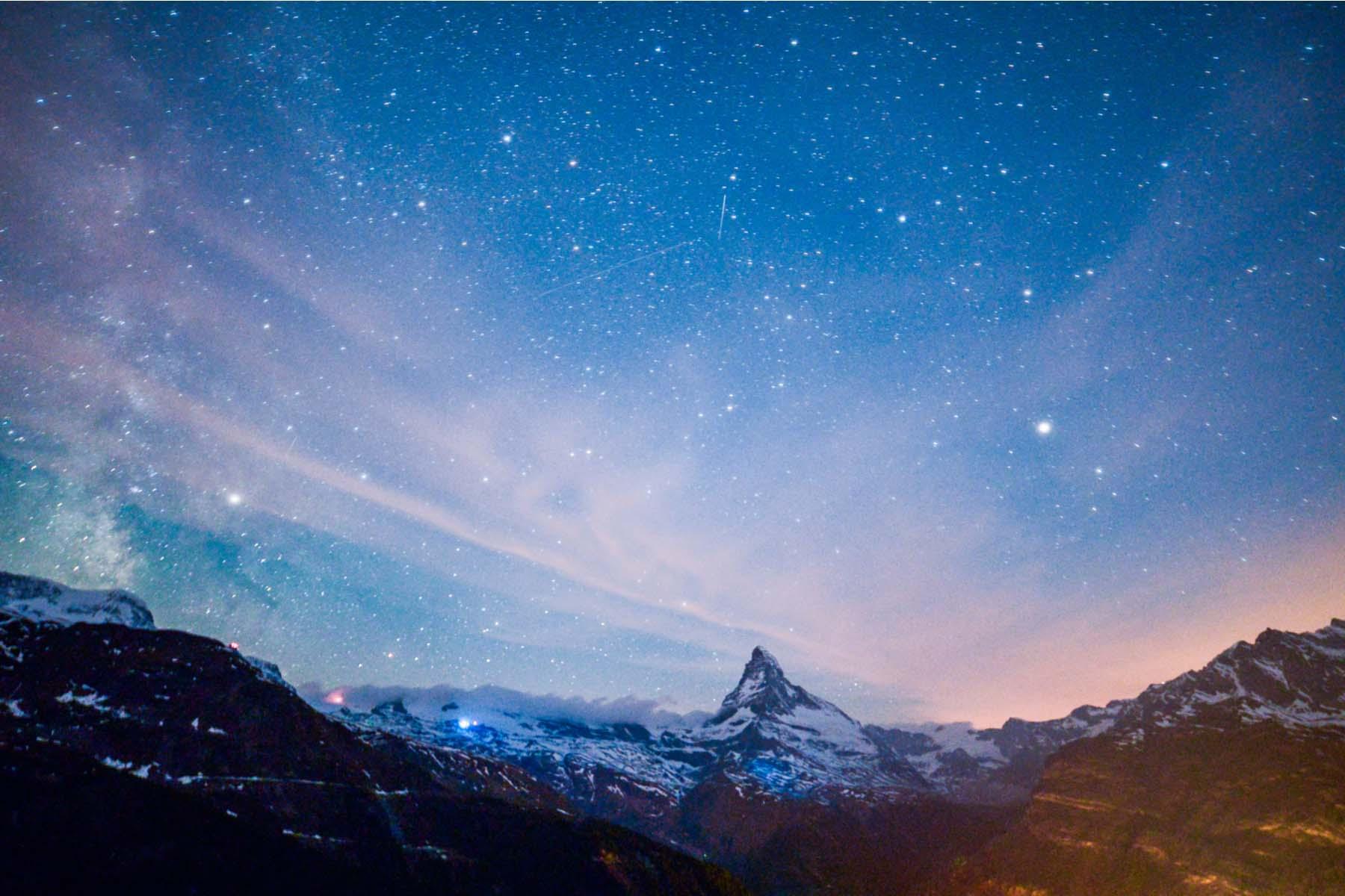 Stargazing in Zermatt