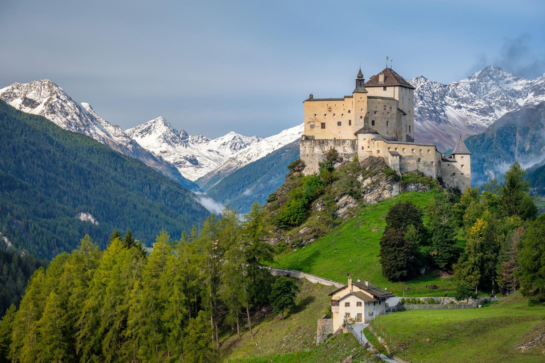 Tarasp Castle in Grisons