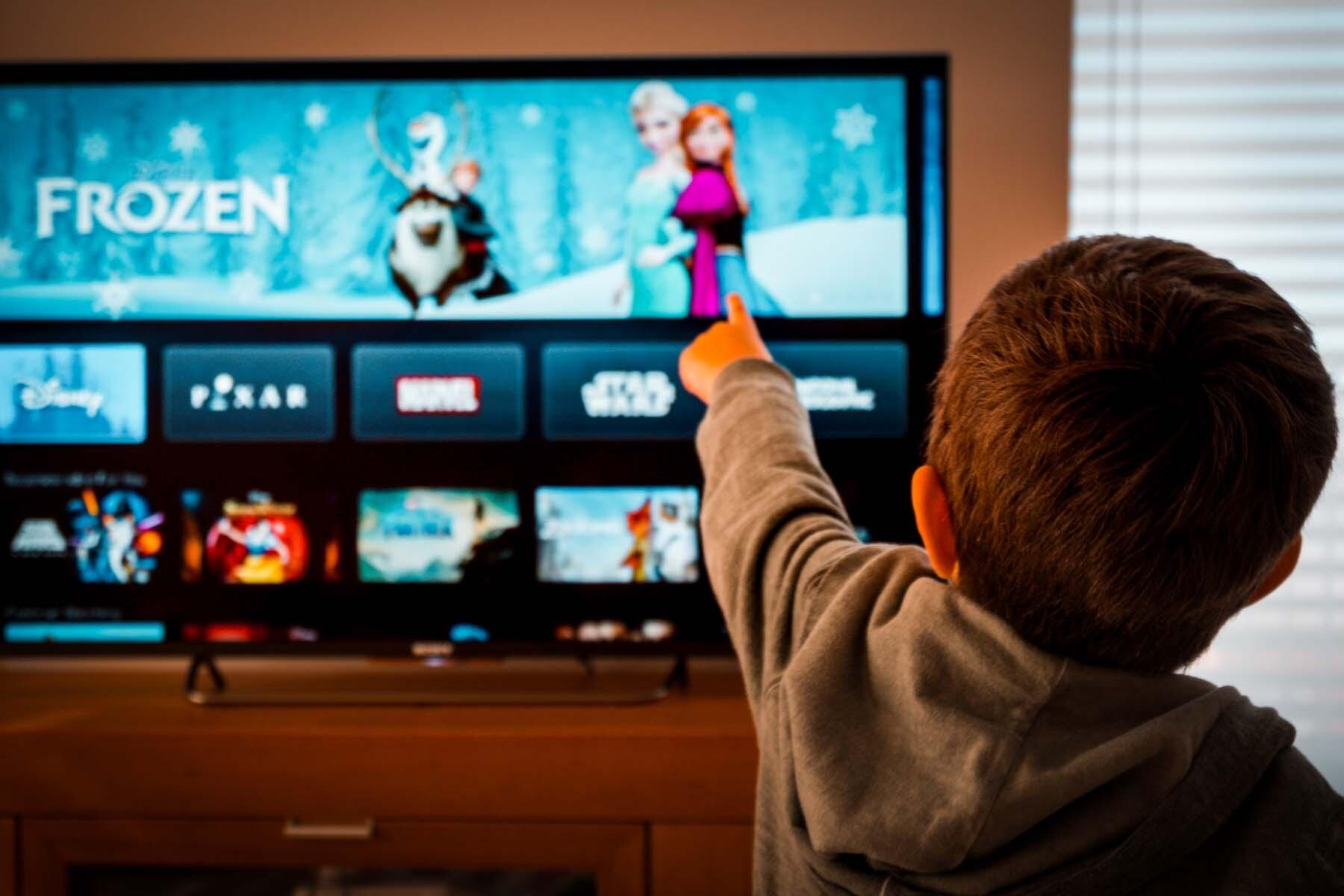child watching tv switzerland
