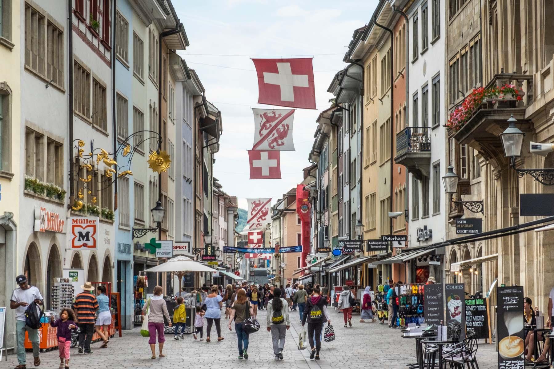 shopping in Winterthur