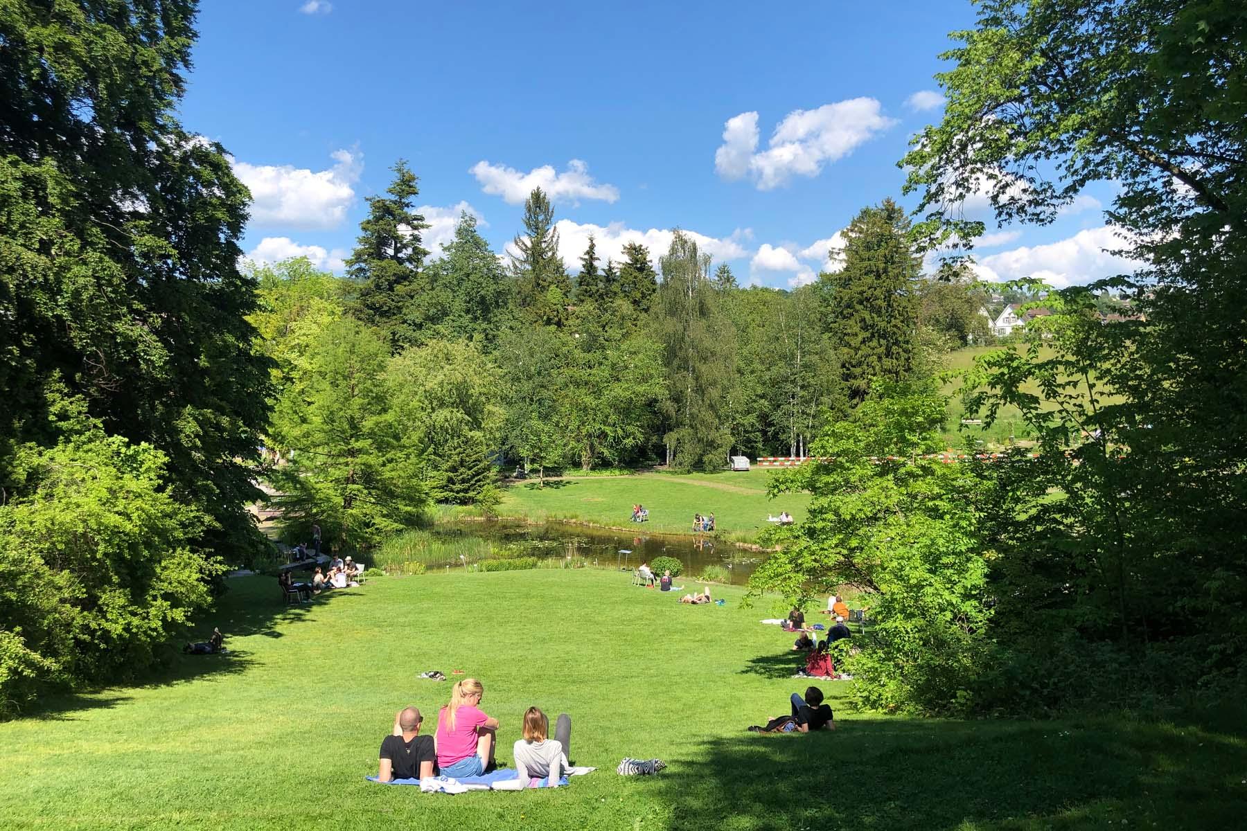 picnic at zurich botanical garden