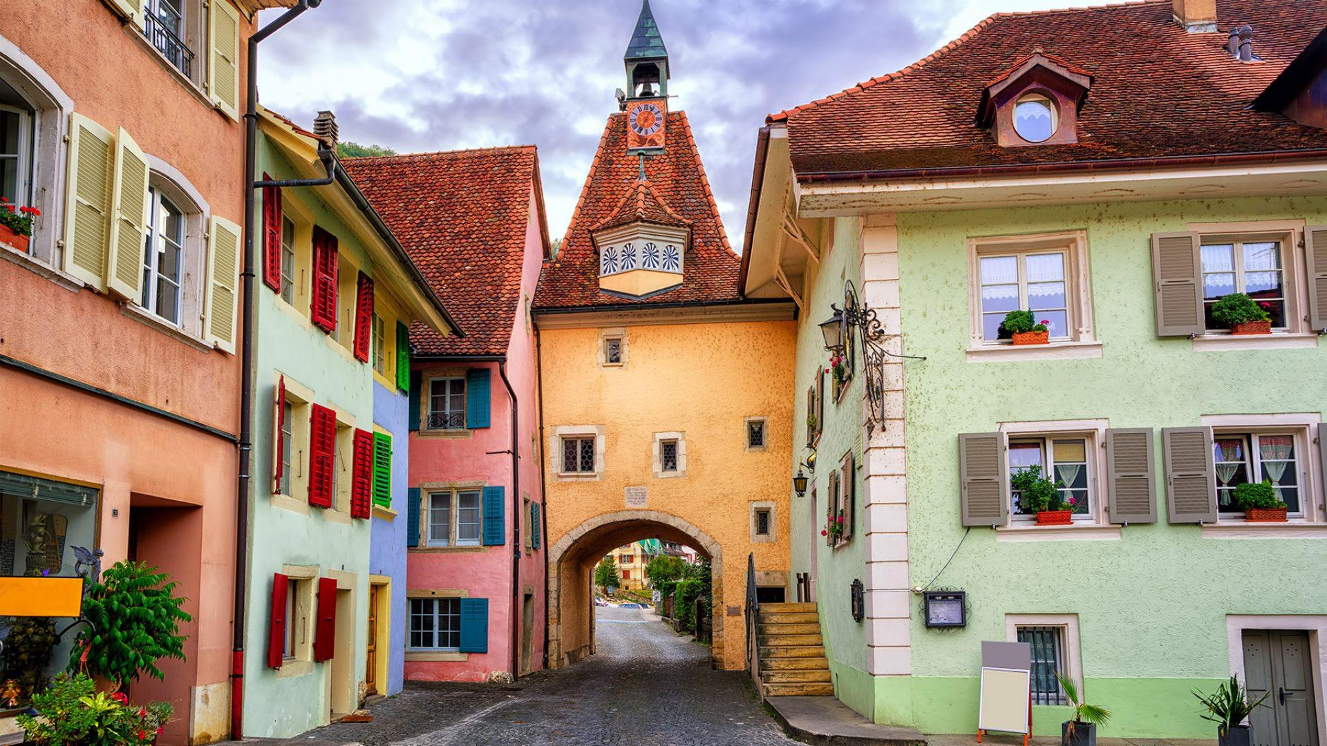 Prettiest towns in Switzerland