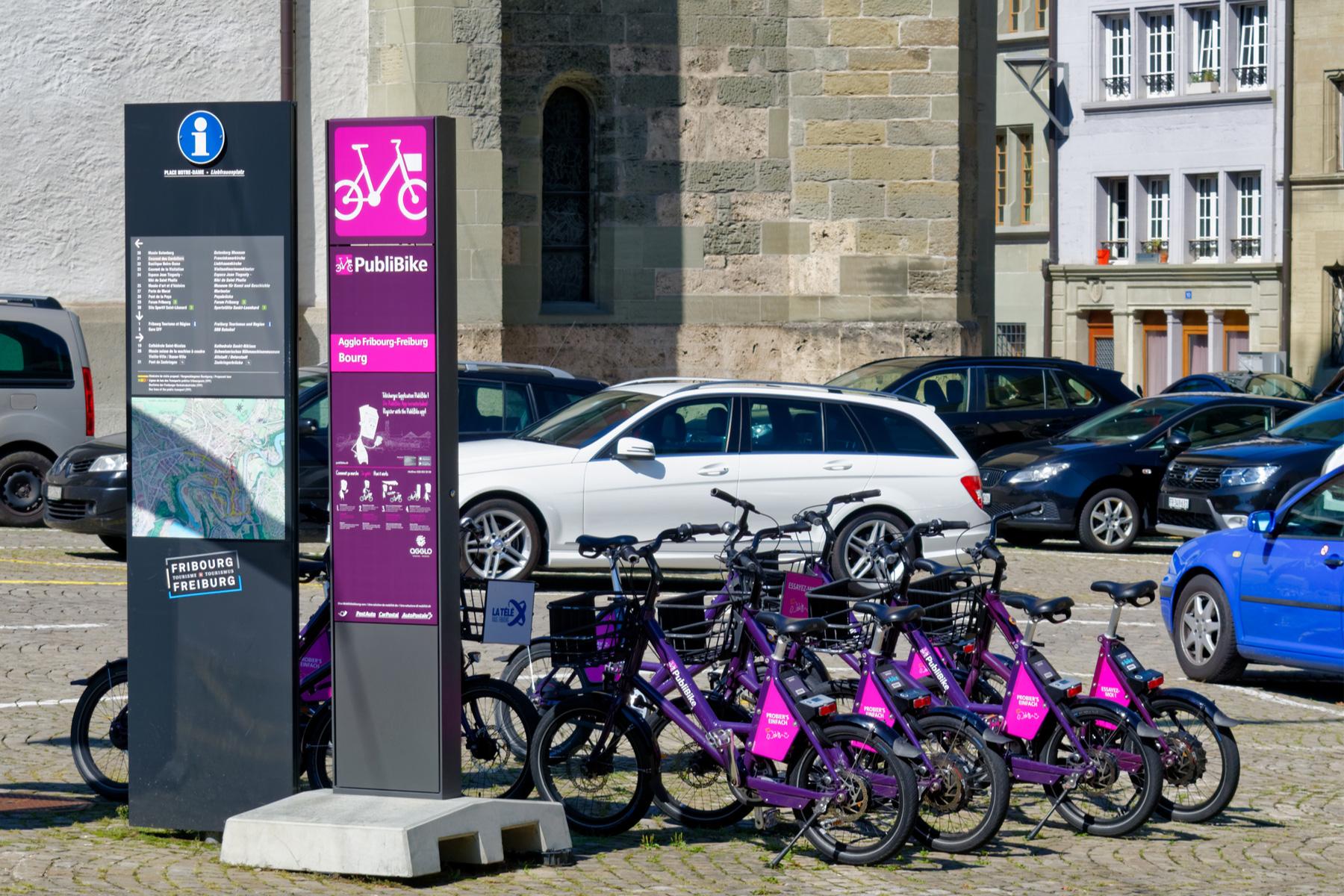 Bike sharing in Switzerland