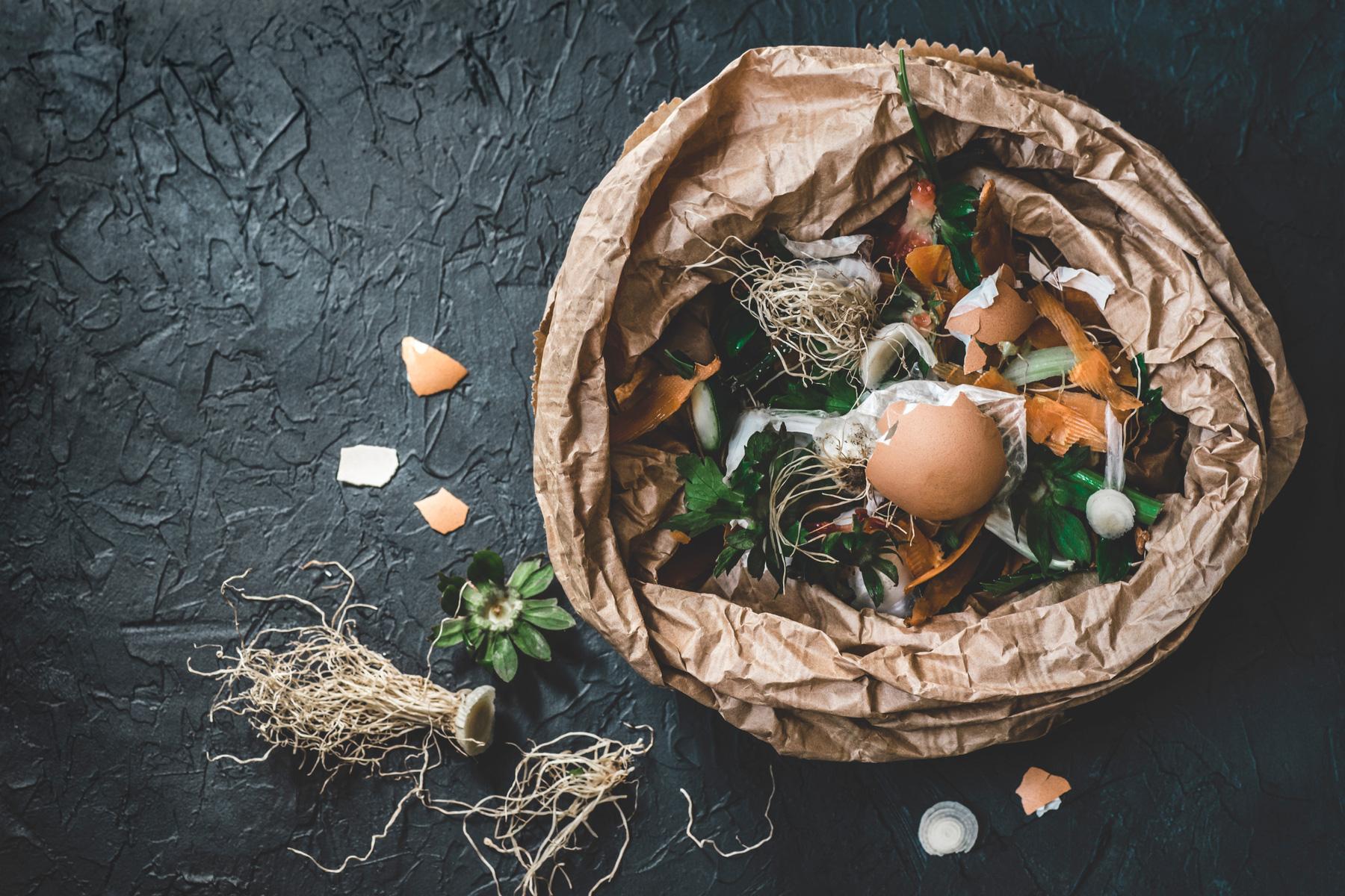 Swiss food composting