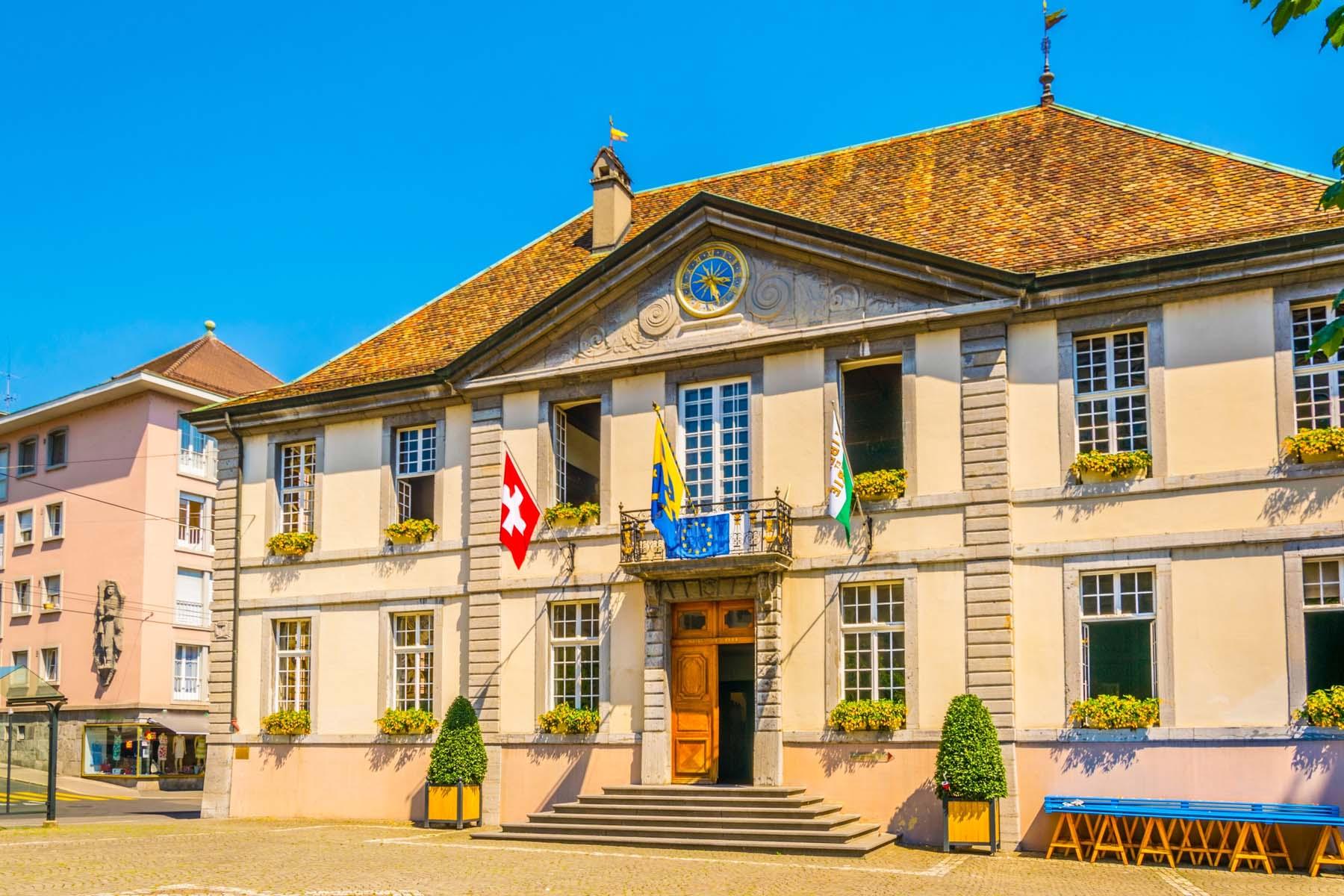 Swiss town hall