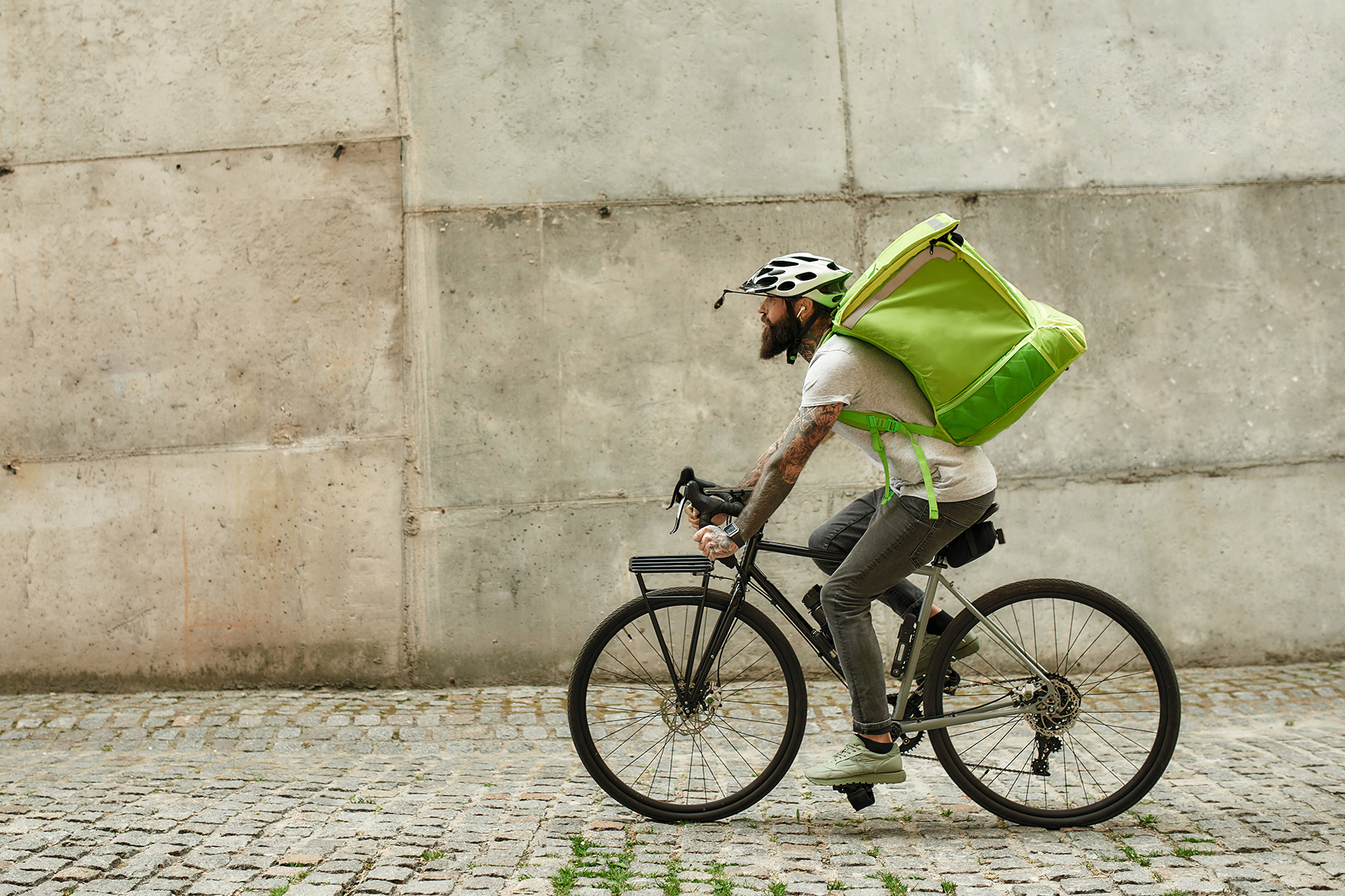 bike couriers are one of the worst-paid professions in Switzerland