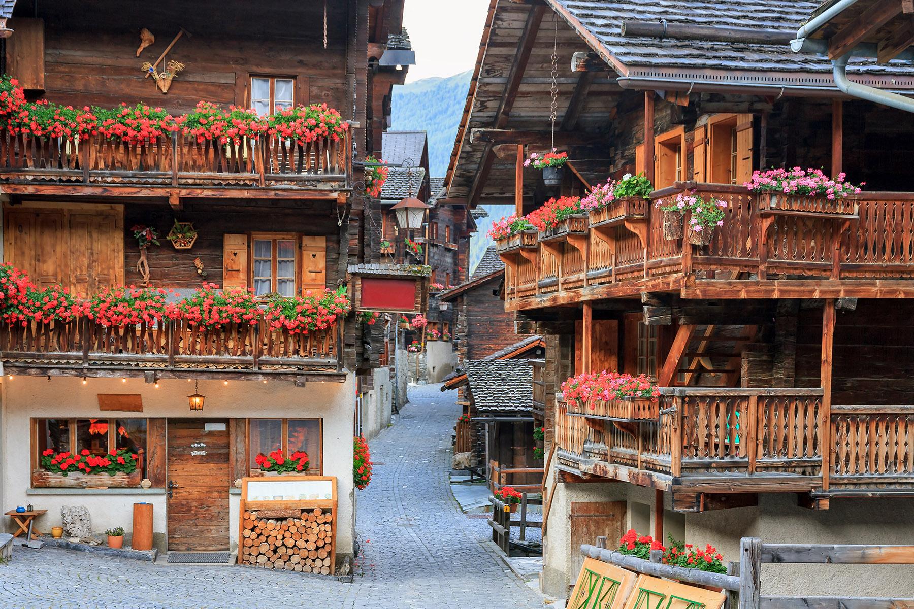 Houses in Grimnetz