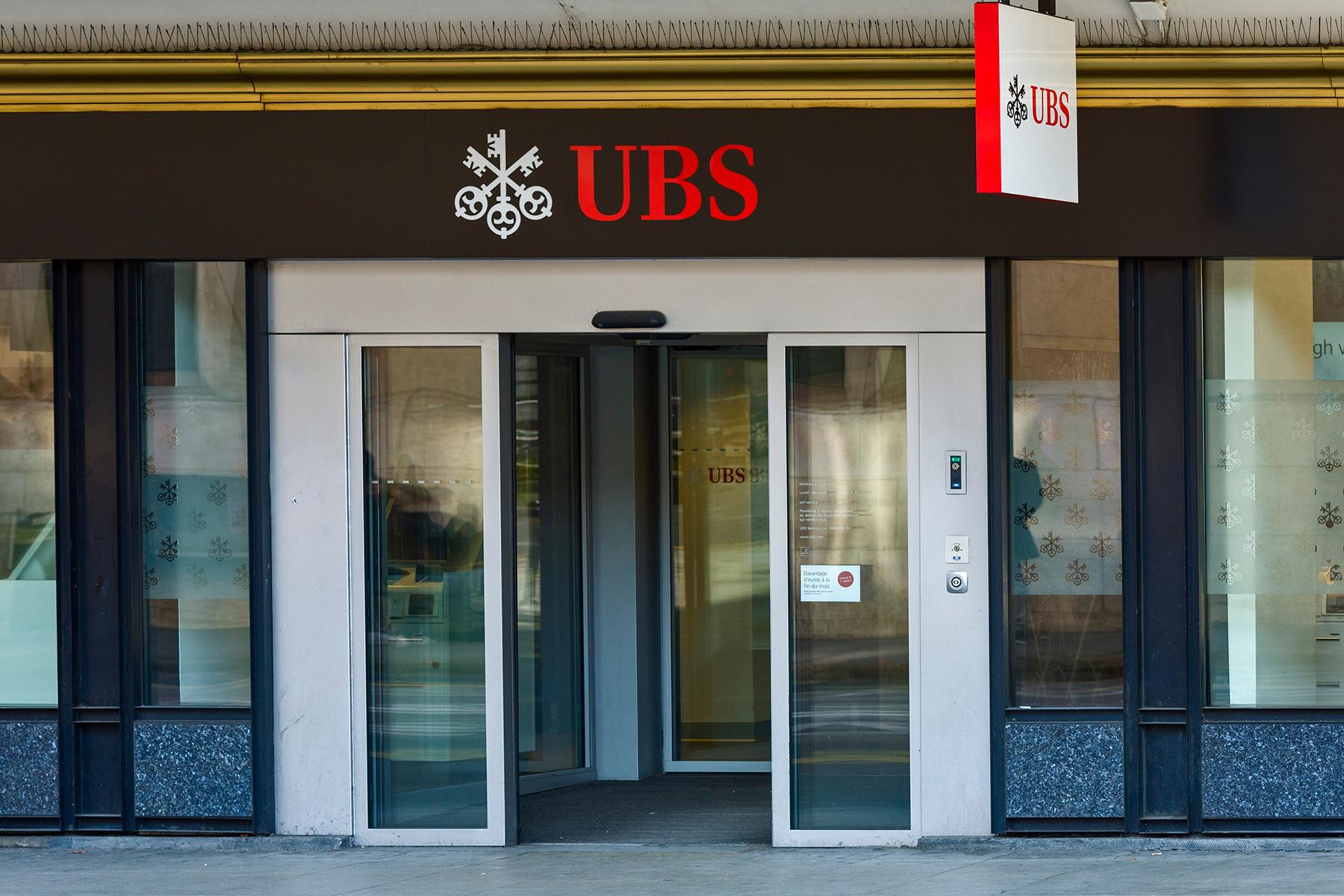 UBS branch in Geneva