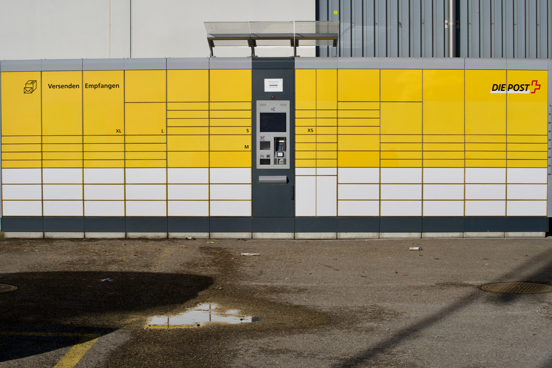 Swiss Post postboxes in Zurich