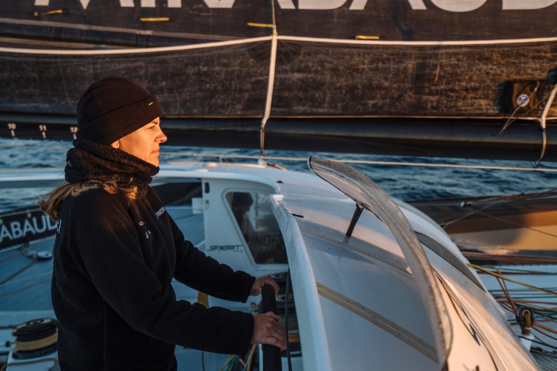 Dona Bertarelli sailing