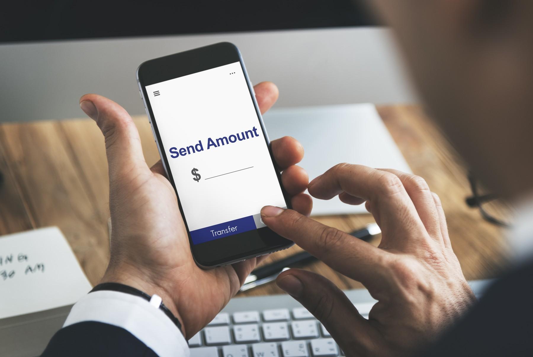 Foreign exchange broker Switzerland on mobile phone