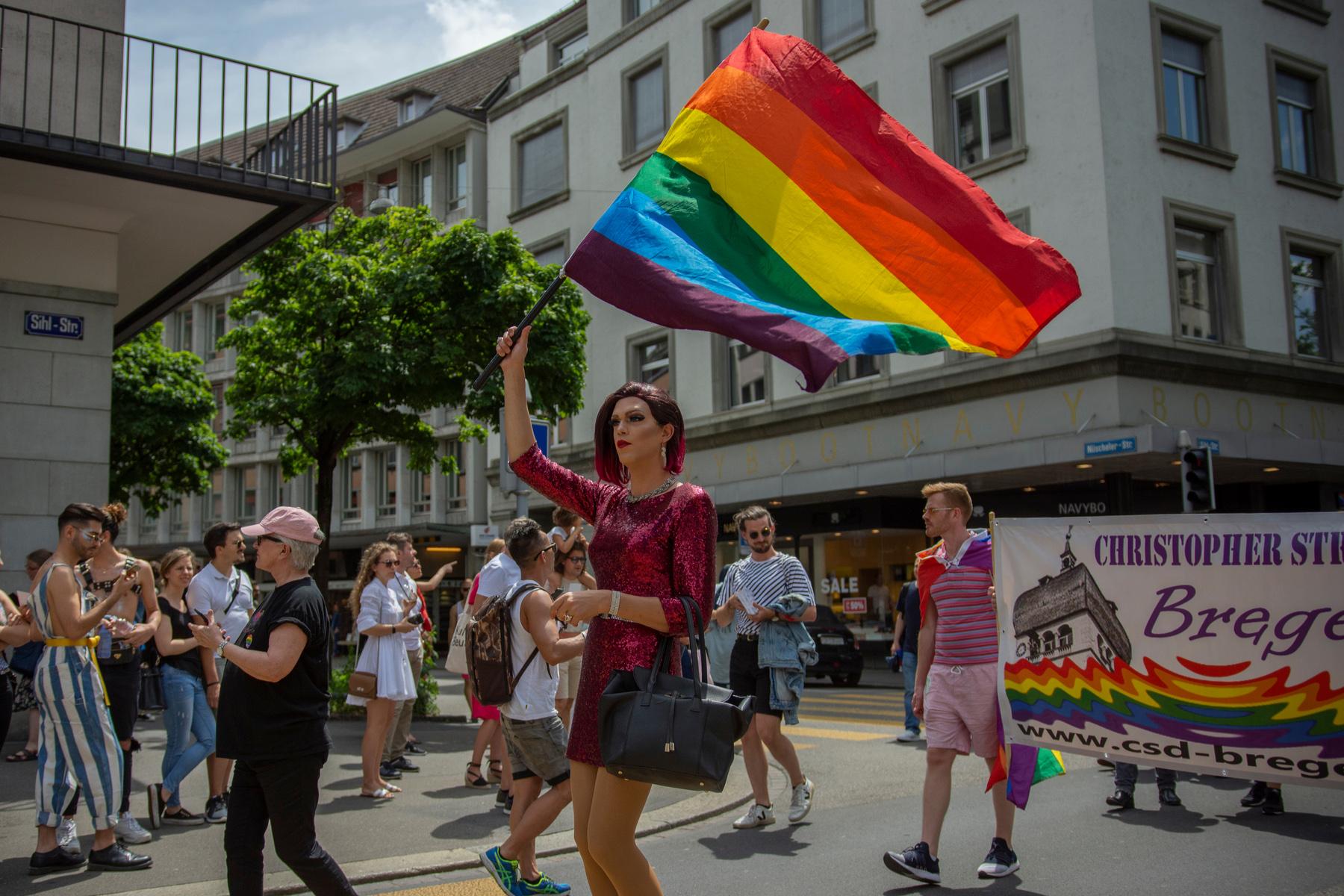 Zurich Pride in 2019