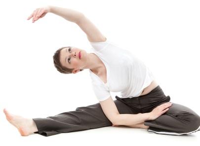Feet firmly on the ground at Yoga Yoga