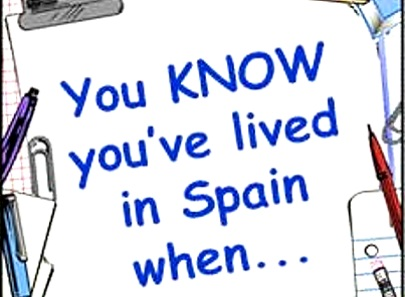 Oye, rubia: Tried-and-true 'You know you've lived in Madrid when…'