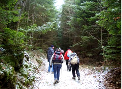 Rambles with a camera: Walking at Marche des Perce Neige