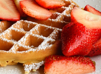 The Petit Four: The Low-Down on Belgian Waffles