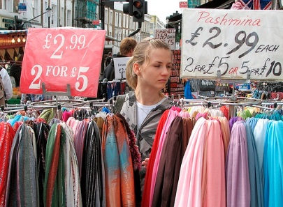 Tall Tales from the Jolly English Pirate: Top five London markets