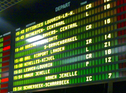 Unexpected Traveller: Guide to Gare du Midi