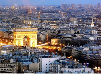 Getting around and about Paris: A bird's eye view
