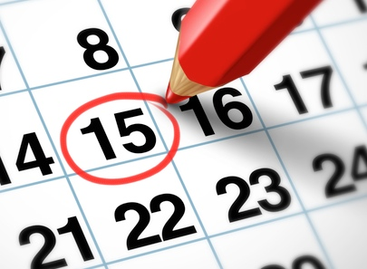 Public holidays and important dates in France 2016