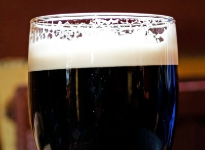 Belgian beer - in a glass of its own