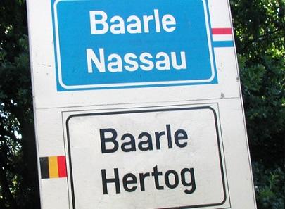 Discovering Belgium: A Belgian village cut in half