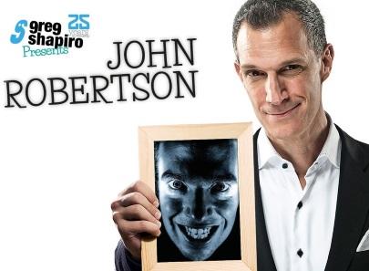 Greg Shapiro presents: John Robertson 'The Dark Room' NL tour