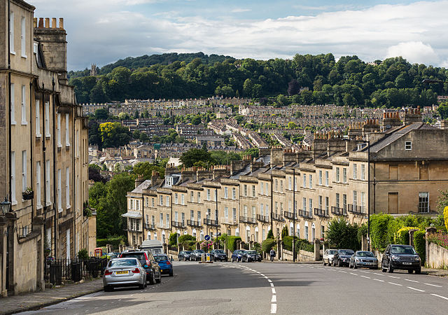 The City of Bath in UK
