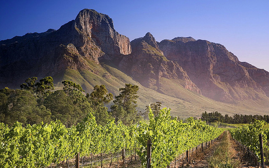 Franschhoek in South Africa