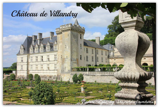 Château de Villandry Castle in France