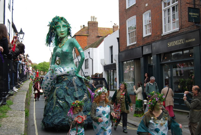 Top festivals in the UK: Hasting Jack in the Green