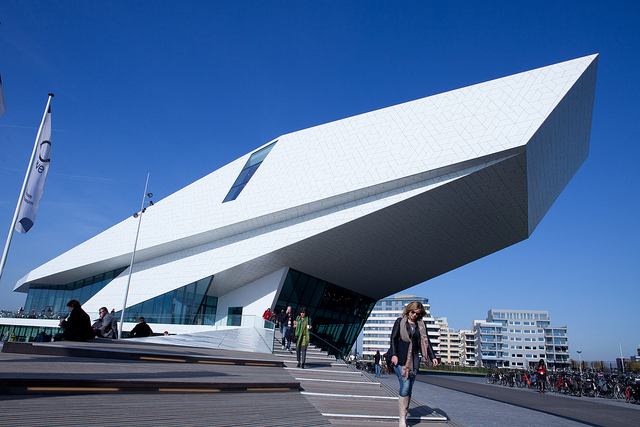 Top 10 things to do in Amsterdam: Eye Film Institute