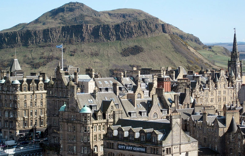 Top places to live UK: Edinburgh