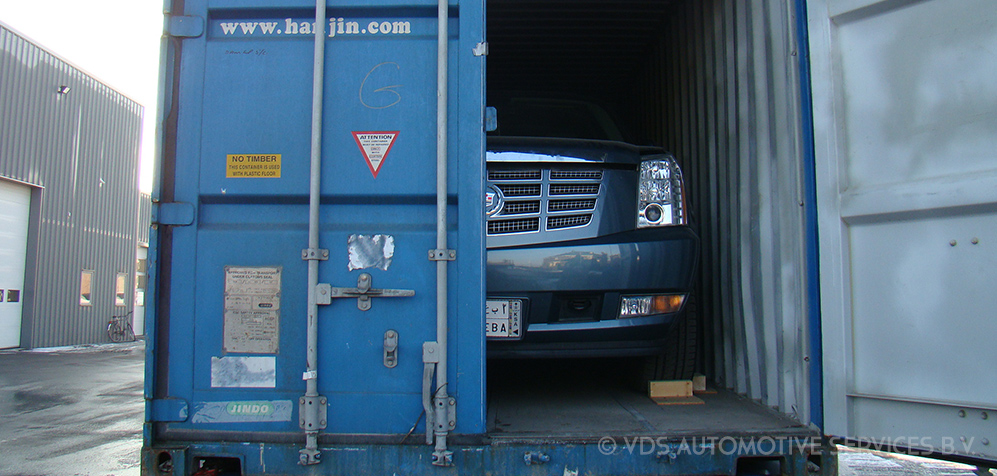 Importing a car to the Netherlands